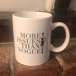 Accessories - Brand new more issues than Vogue mug